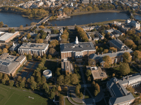 Harvard Campus from above